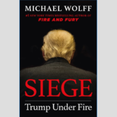 Siege - Trump Under Fire cover by Michael Wolff
